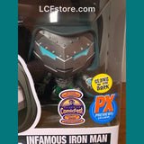 Marvel Infamous Iron Man GITF PX Exclusive POP