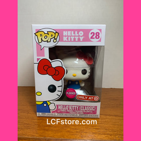Hello Kitty (Classic) Target Exclusive Flock Funko POP!