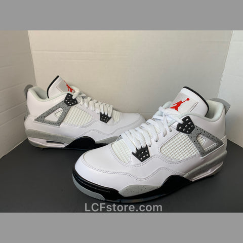 Nike Air Jordan 4 Golf 'White Cement'