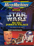 Micro Machine Star Wars R2-D2 Jabba's Palace Action Set
