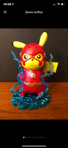 Pikachu Flash Cosplay figure