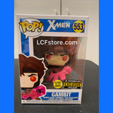 X-Men Gambit Glow in the Dark Entertainment Earth Exclusive Funko POP!