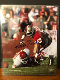 San Francisco 49ers legend Keena Turner autograph photo.
