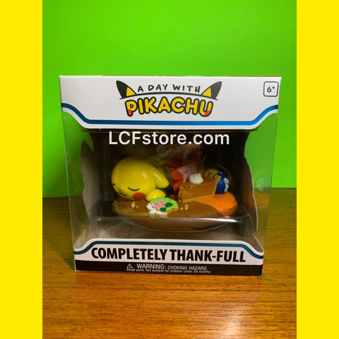 "A Day With Pikachu Figure ""Completely Thank-Full"""
