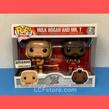 Hulk Hogan and Mr.T Amazon Exclusive Funko POP!