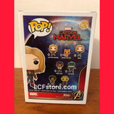 Hot Topic Exclusive Captain Marvel Funko POP