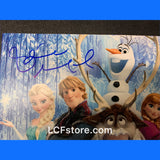 Disney Frozen 8x10 Photo signed by Idina Menzel and Jonathan Groff.