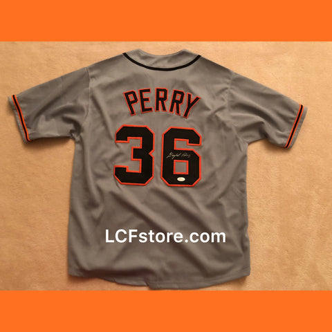 San Francisco Giants Legend Gaylord Perry Autograph Jersey