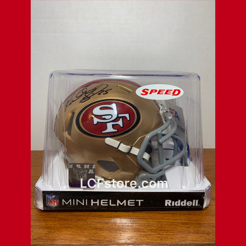 San Francisco 49ers Richard Sherman signed Mini Speed Helmet