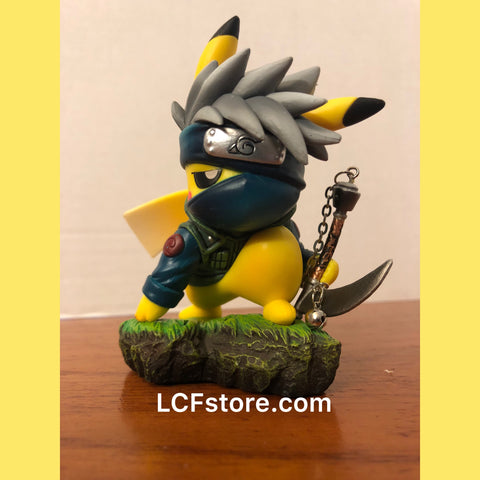 Pikachu Hatake Kakashi Cosplay Action Figure