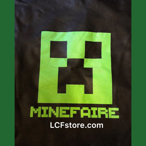 MineFaire Minecraft Exclusive Draw String Bag