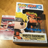 Naruto Rasengan POP! signed by Voice actor Maile Flanagan