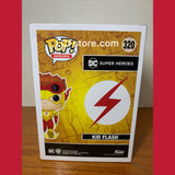 DC Kid Flash Hot Topic Exclusive Glow In The Dark Chase Funko Pop #320
