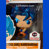 Dragon Ball Super Metallic SSGSS Goku Chalice Exclusive Funko POP!