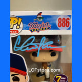Major League The Wild Thing Funko POP signed by Charlie Sheen