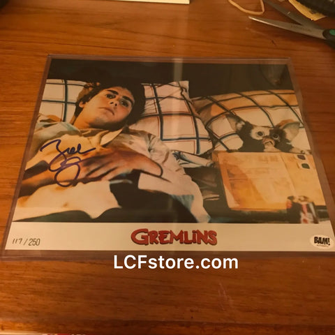 Zach Galligan autograph Gremlin 8x10 photo