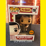 Mr. Bean Pajamas with Teddy Bear Chase Variant Funko POP!
