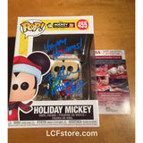 Holiday Mickey Mouse Funko POP Signed by Bret Iwan