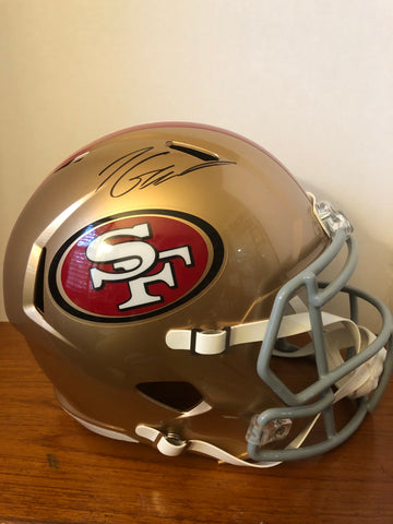 Jimmy Garoppolo signed full size Speed Helmet