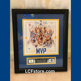 Golden State Warriors Stephen Curry Autograph Framed Photo
