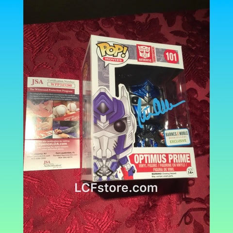 Transformer Optimus Prime Autograph Funko POP