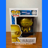 The Rock Gold Smack Down Live Exclusive Funko POP!