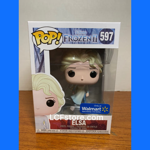 Disney Frozen 2 Elsa Walmart Exclusive Funko POP!