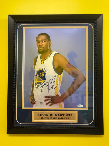Golden State Warriors Kevin Durant autograph photo