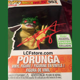 Porunga Funko POP Autograph by Chris Sabat