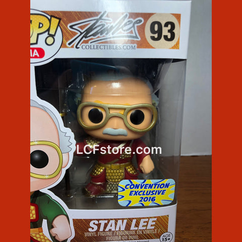 Stan Lee Guan Yu Exclusive Funko POP