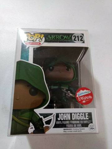 John Diggle Fugitive Toys Exclusive Funko POP