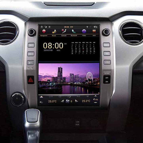 "12.1"" Android 7.1 Fast Boot Vertical Screen Navi Radio for Toyota Tundra 2014 - 2019"