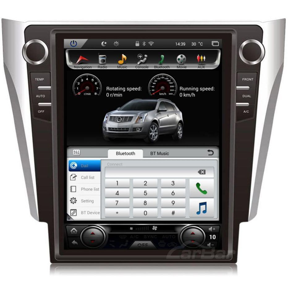 12 1 U0026quot  Vertical Screen Android Navi Radio For Toyota Camry