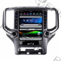 "[ PX6 Six-core ] 12.1"" Android 9 Fast boot Vertical Screen Navi Radio for Dodge Ram 2019 - 2020"
