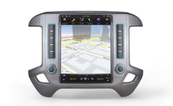 "[PX6 SIX-CORE] 12.1"" Android 8.1 Vertical Screen Navigation Radio for Chevrolet Silverado GMC SIERRA 2014 - 2018"