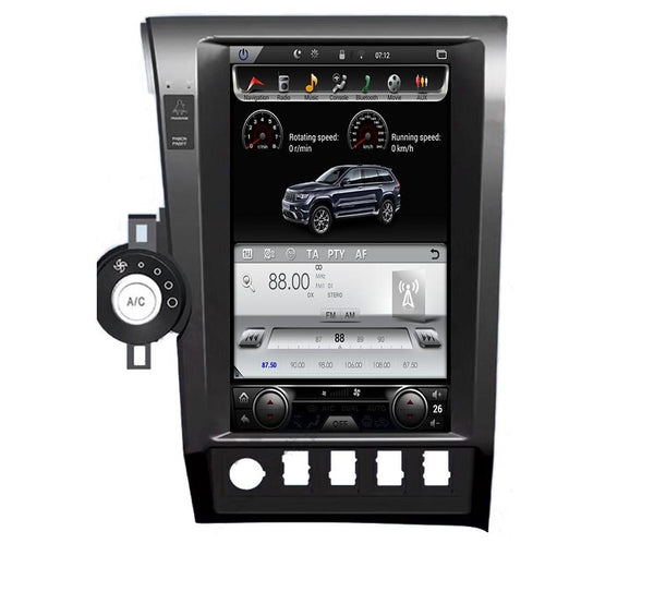 "[PX6 Six-core] 13.6"" Android Vertical Screen Navigation Radio for Toyota Tundra 2007 - 2013"