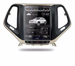 "[ PX6 six-core ] 10.4"" Vertical Screen Android 9 Fast boot Navigation Radio for Jeep Cherokee 2014 - 2020"
