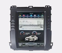 "10.4"" Vertical Screen Android Navigation Radio for Toyota Land Cruiser Prado 2003 - 2009"