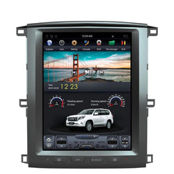 "[PX6 Six-core]  12.1"" Vertical Screen Android Navi Radio for Toyota Land Cruiser LC100 2002 - 2007"