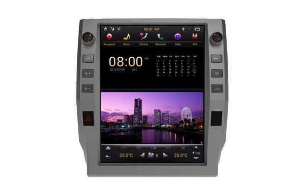 "[PX6 SIX-CORE] 12.1"" Android 9 Fast Boot Vertical Screen Navi Radio for Toyota Tundra 2014 - 2019"