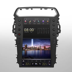"[ PX6 SIX-CORE ] 13.6"" VERTICAL SCREEN ANDROID NAVIGATION RADIO FOR FORD EXPLORER 2011-2019"