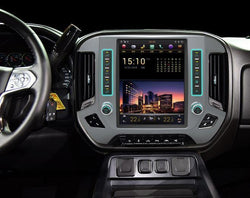 "12.1"" Android 7.1 Fast Boot Vertical Screen Navigation Radio for GMC Sierra 2014 - 2018"