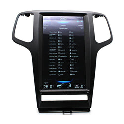 "[PX6 SIX-CORE] 13.3"" Vertical Screen Android 9.0 Navigation Radio for Jeep Grand Cherokee 2009 - 2013"