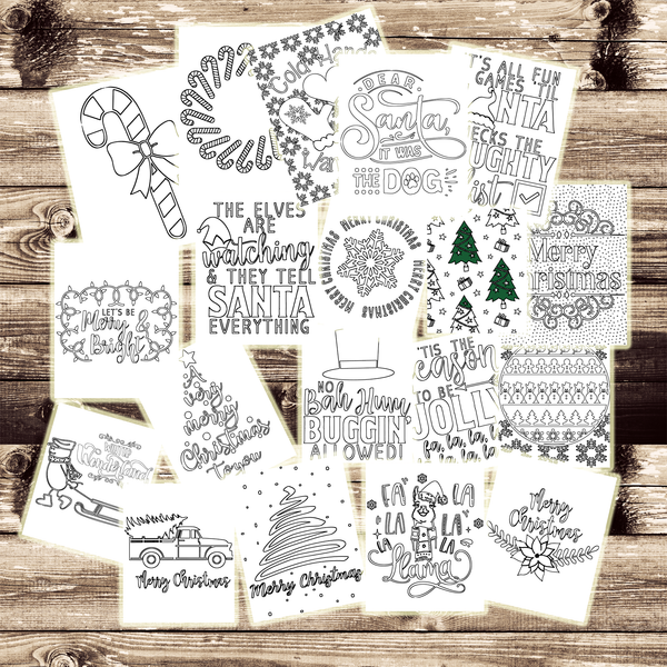 20 Free Christmas Coloring Pages for All Ages