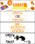 Halloween Bookmarks {Set of 4}