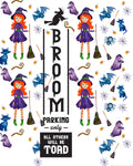 Broom Parking Only Halloween Door Decor {1 page}