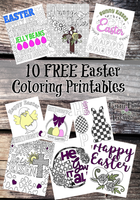 10 FREE Easter Coloring Printables