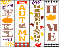 Awesome Fall Bookmarks