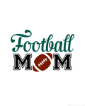 Football Mom Wall Hanging