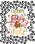 Free Happy Turkey Day Wall Hanging